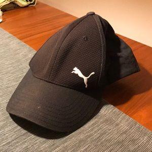 All Black Puma baseball hat